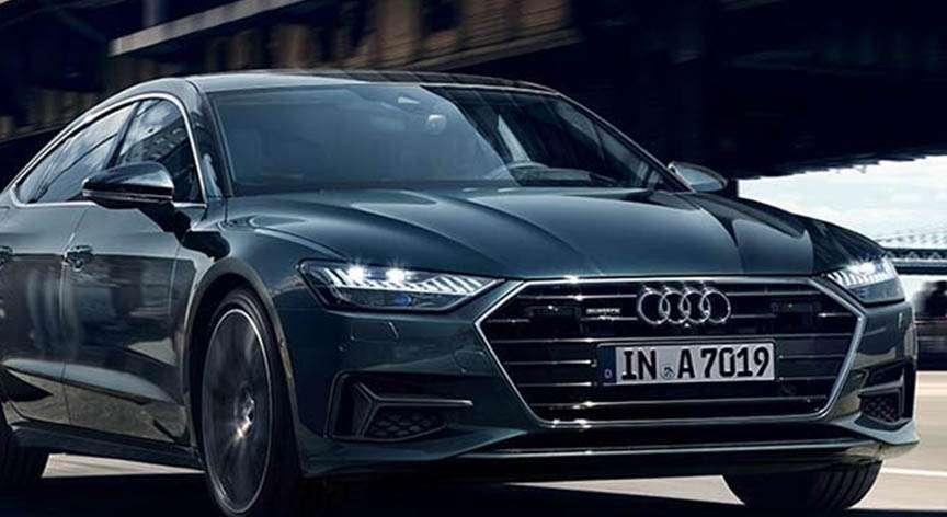 Frontal de Audi A7