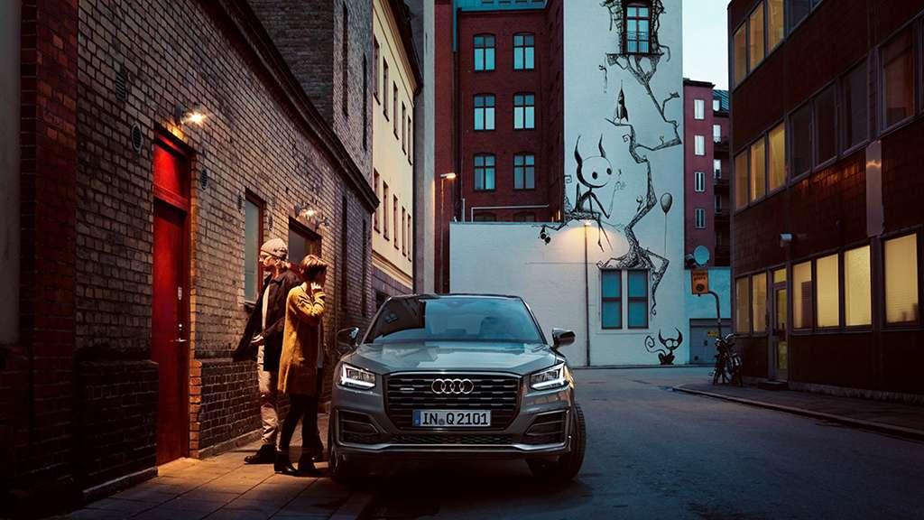 frontal del Audi Q2