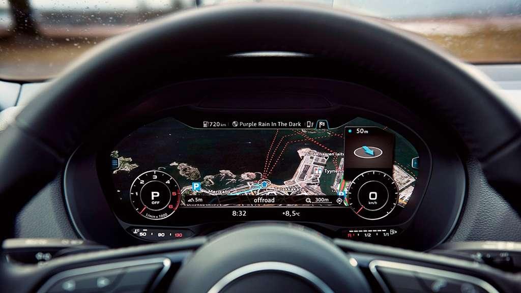 cuadro de mandos de Audi Q2