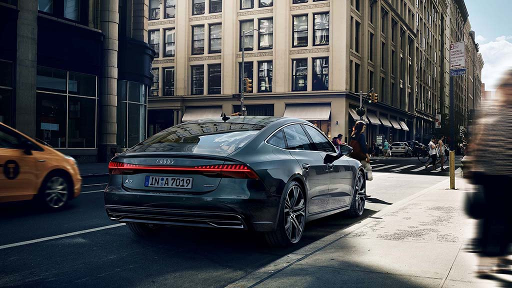 La trasera del Audi A7