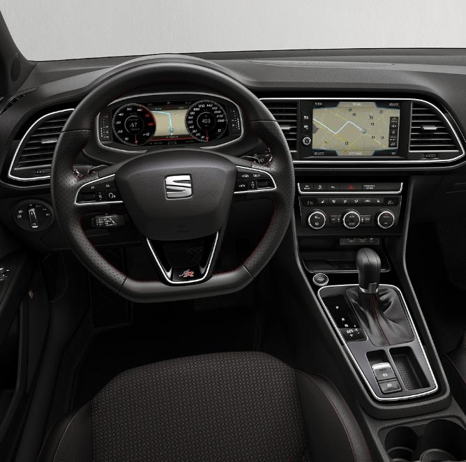 interior asiento conductor seat leon