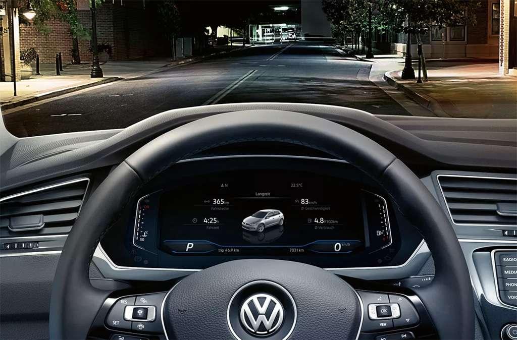 cockpit de volkswagen tiguan