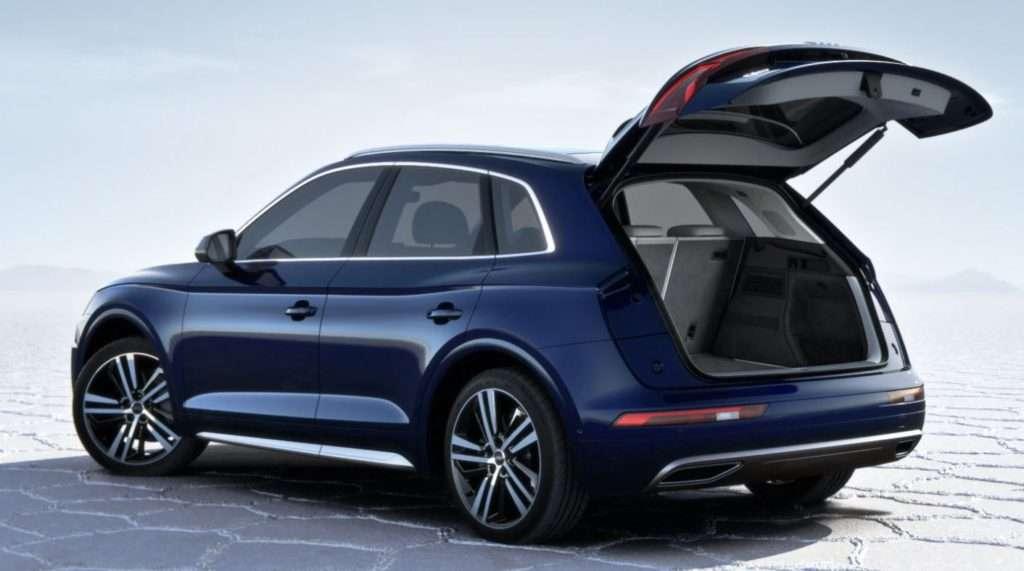 Amplio maletero del Audi Q5