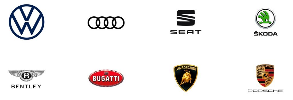 Coches grupo Volkswagen
