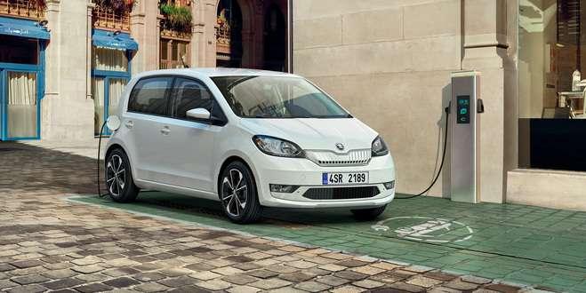Skoda coche pequeño y eléctrico