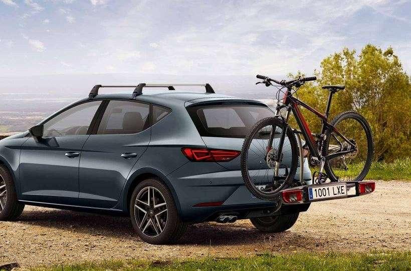baca de portón trasero con bicicleta del coche familiar Seat León