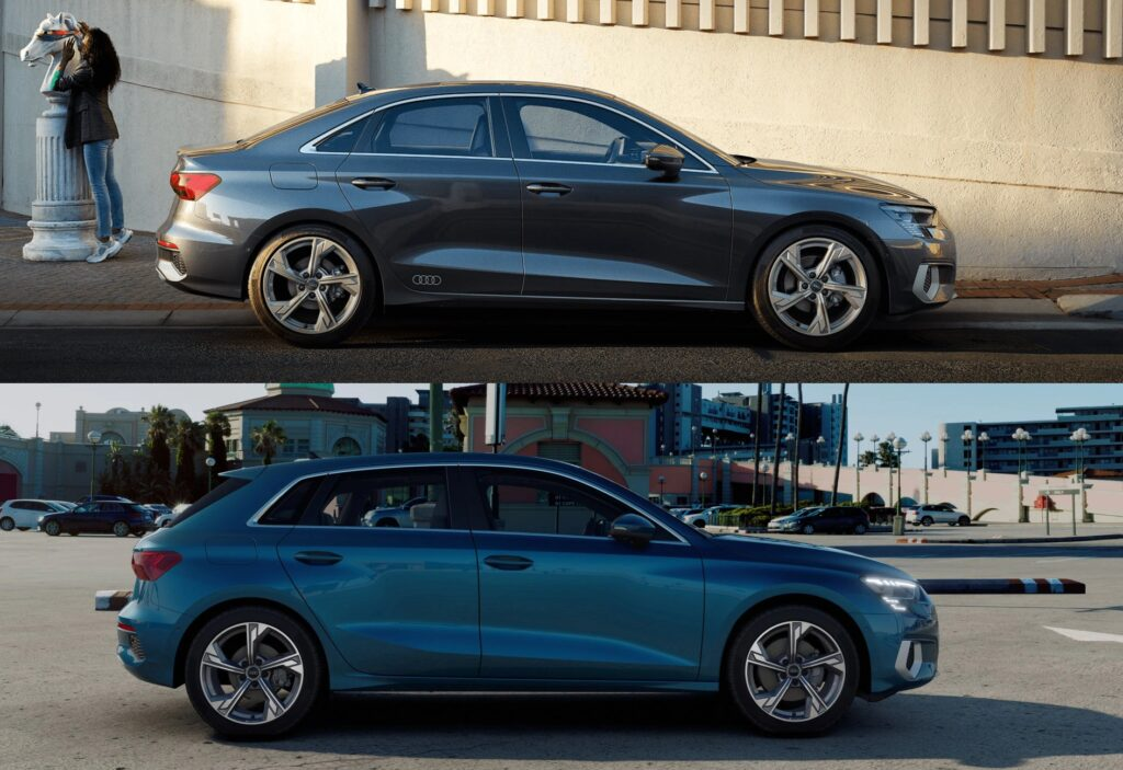 Nuevo Audi A3 Sportback vs A3 Sedan